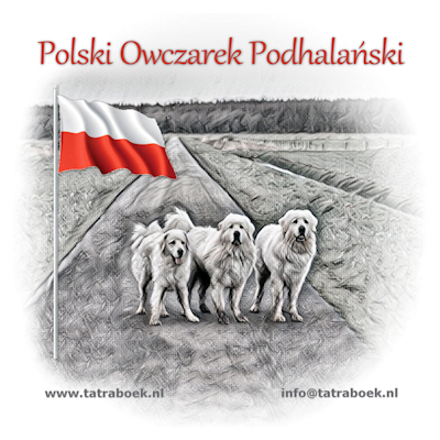 The book about the Tatra Shepherd Dog